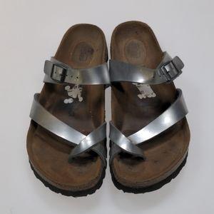 Birkenstock Gray Sandals Size 37